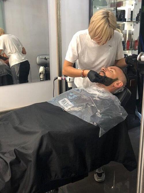 Уход и стрижка бороды в студии красоты MARUS