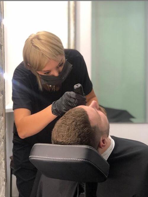 Моделирование бороды в студии Марус