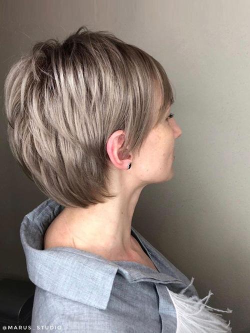 Стрижки коротких волос Марус