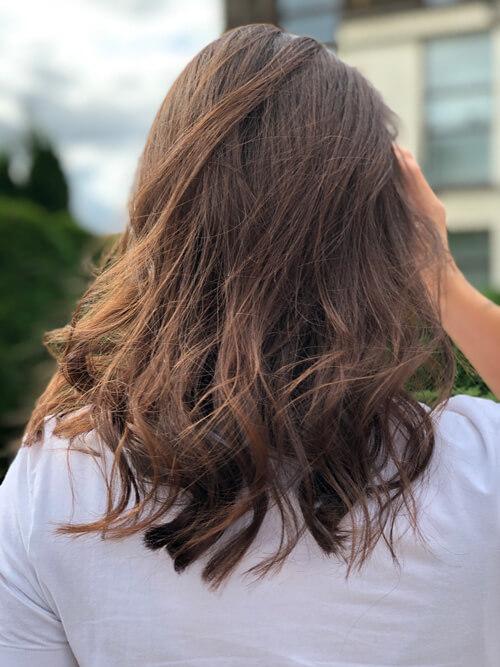 Услуги на средние волосы в студии МАРУС
